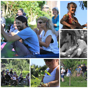 Walk of Wisdom sponsorbijeenkomst bijenboom 23 augustus 2016